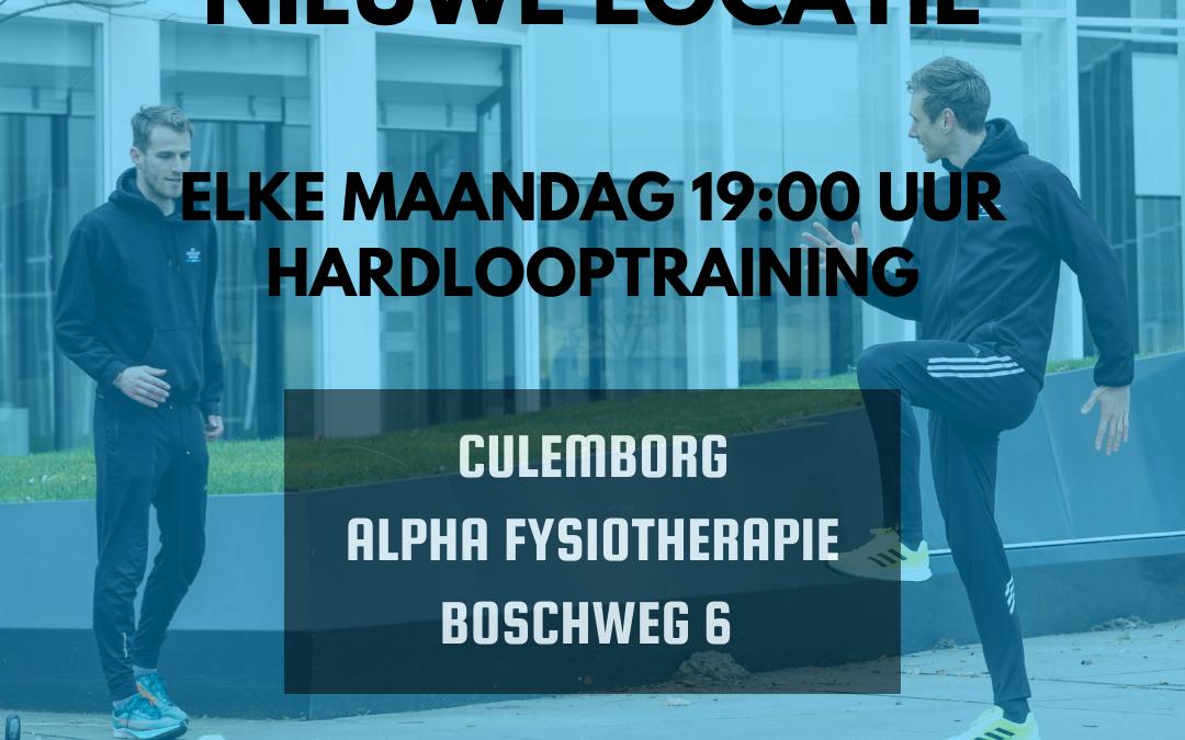 KickOff 15 Maart Nieuwe locatie in Culemborg